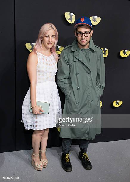 Rachel Antonoff and Jack Antonoff attend the firstever revival of Andrew Lloyd Webber's iconic CATS on Broadway on July 31 2016 in New York City