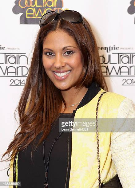 Rachel Baker attends day 1 of the 2014 Soul Train Music Awards Gifting Suite at the Orleans Arena on November 6 2014 in Las Vegas Nevada