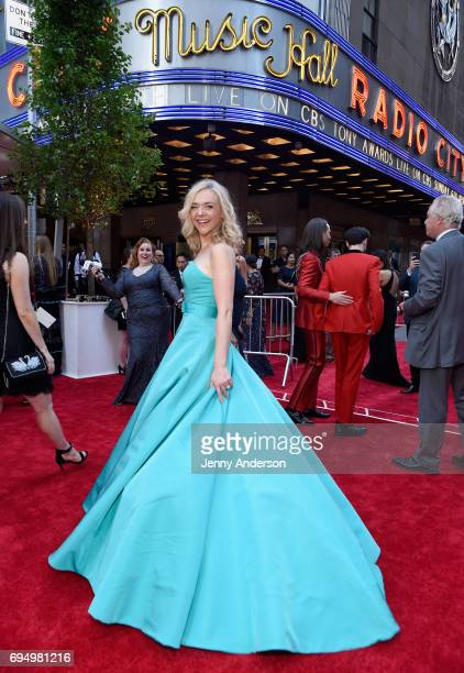 Rachel Bay attends the 2017 Tony Awards at Radio City Music Hall on June 11 2017 in New York City