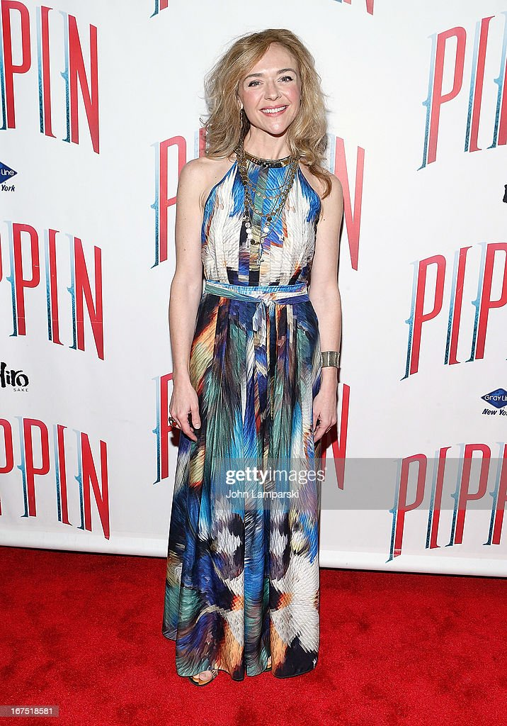 Rachel Bay Jones atends the after party for the Broadway opening night of 'Pippin' at Slate on April 25, 2013 in New York City.