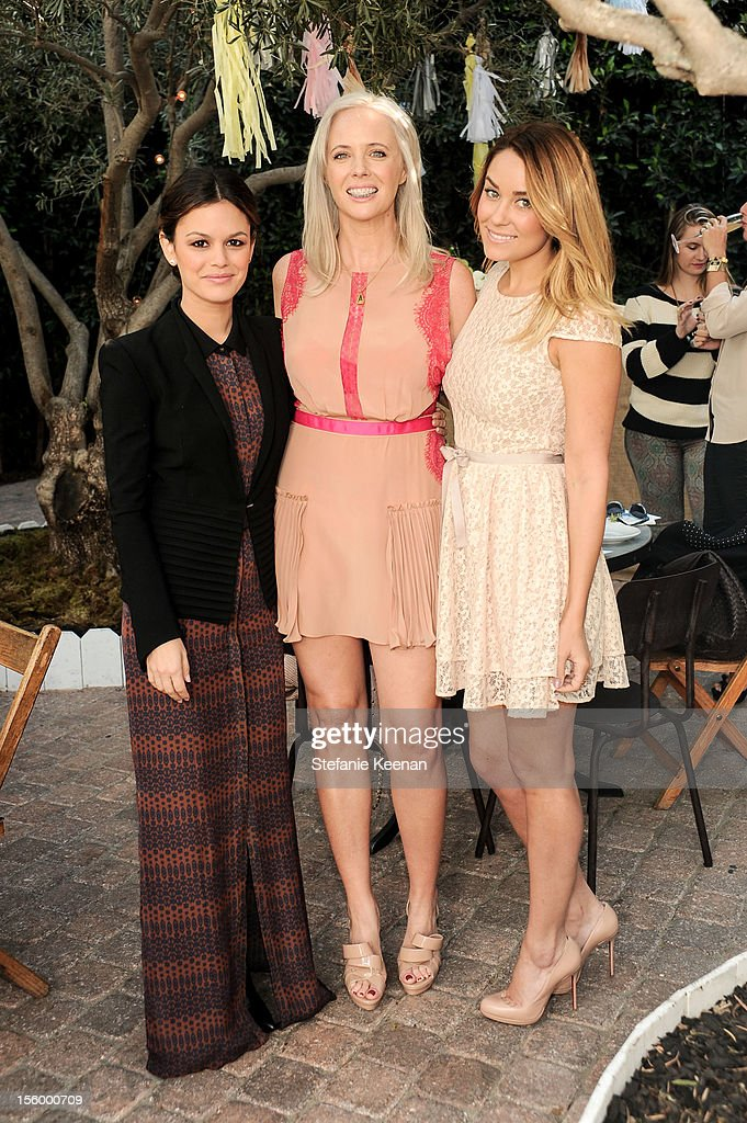 Rachel Bilson, Amy Nadine and Lauren Conrad attend ShoeMint Celebrates 1 Year Anniversary With Rachel Bilson And Nicole Chavez at Laurel Hardware on November 10, 2012 in West Hollywood, California.
