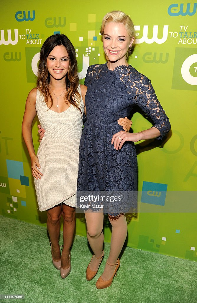 Rachel Bilson and Jaime King attend the CW Network's 2011 Upfront at Jazz at Lincoln Center on May 19, 2011 in New York City.