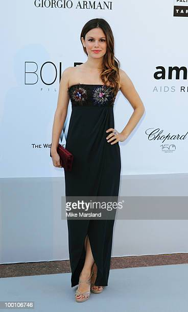 Rachel Bilson arrives at amfAR's Cinema Against AIDS 2010 benefit gala at the Hotel du Cap on May 20 2010 in Antibes France