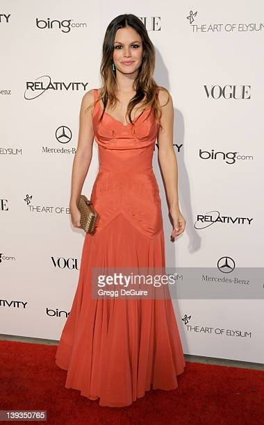 """Rachel Bilson arrives at The Art Of Elysium's 4th Annual Black Tie Charity Gala """"Heaven"""" at The Annenberg Building at the California Science Center..."""