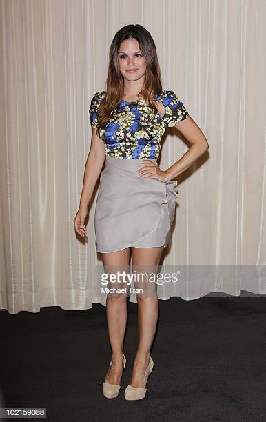 Rachel Bilson arrives at the THQ 'Take No Prisoners' party at E3 held at The Standard Hotel on June 16 2010 in Los Angeles California