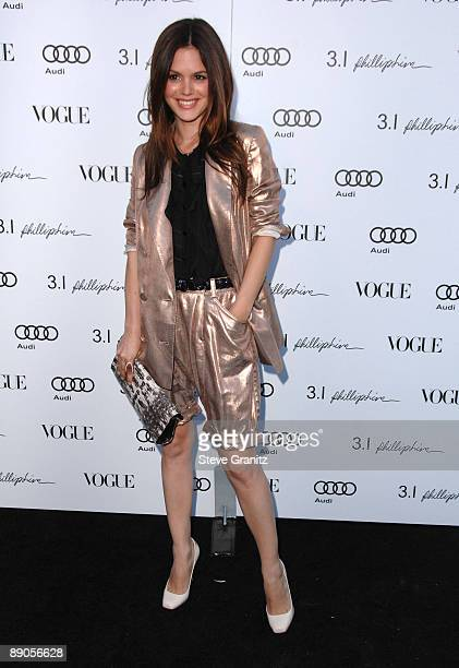 Rachel Bilson arrives at the Vogue's 1 Year Anniversary Party For 3.1 Phillip Lim's LA Store on July 15, 2009 in West Hollywood, California.