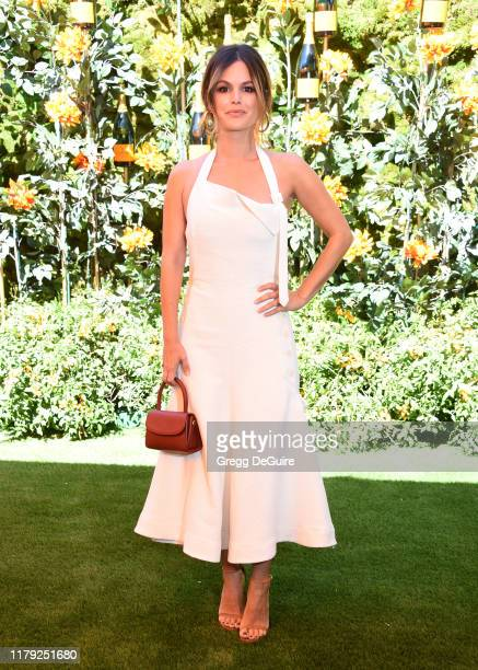 Rachel Bilson attends the 10th Annual Veuve Clicquot Polo Classic Los Angeles at Will Rogers State Historic Park on October 05 2019 in Pacific...