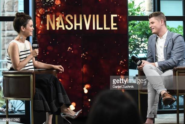 Rachel Bilson attends the Build Series to discuss her new role on CMT's 'Nashville' at Build Studio on June 22 2017 in New York City