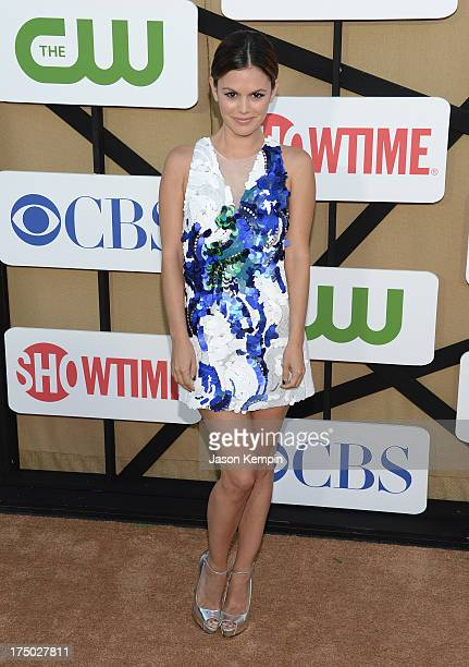 Rachel Bilson attends the CW CBS And Showtime 2013 Summer TCA Party on July 29 2013 in Los Angeles California