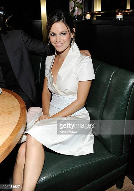 Rachel Bilson attends the CW Network's 2011 Upfront party at Hurricane Club on May 19 2011 in New York City