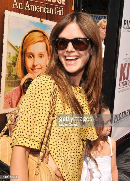 Rachel Bilson attends the premiere of Kit Kittredge An American Girl at The Grove on June 14 2008 in Los Angeles California