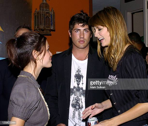 Rachel Bilson, Brandon Davis and Mischa Barton in Backstage Creations Talent Retreat