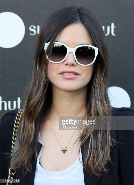 Rachel Bilson celebrates Spring 2012 Sunglass Style at Sunglass Hut on March 12 2012 in Santa Monica California