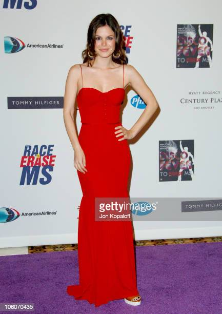 Rachel Bilson during 13th Annual Race to Erase MS 'Disco Fever to Erase MS' Arrivals at Hyatt Regency Century Plaza in Century City California United...