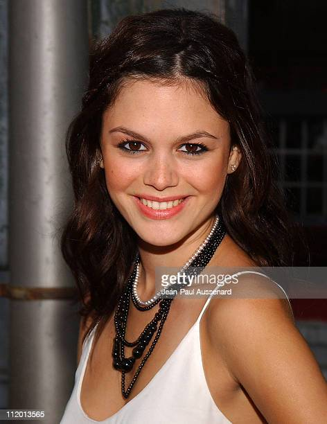 Rachel Bilson during 2004 Fox AllStar Party at 20th Century Fox Studios in Los Angeles California United States