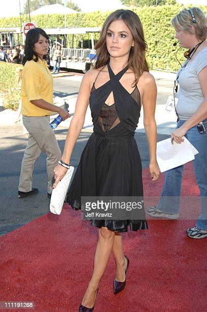 Rachel Bilson during 2006 Teen Choice Awards Arrivals at Gibson Amphitheatre in Universal City California United States