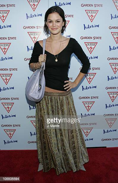Rachel Bilson during 'Garden State' Los Angeles Premiere Arrivals at Directors Guild of America in Los Angeles California United States