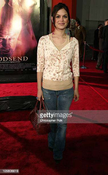 Rachel Bilson during 'Godsend' Los Angeles Premiere Arrivals at Grauman's Chinese Theatre in Hollywood California United States