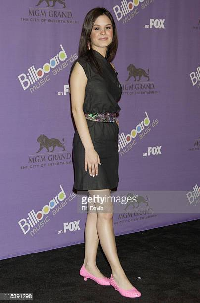 Rachel Bilson during The 2003 Billboard Music Awards Press Room at MGM Grand Garden Arena in Las Vegas Nevada United States