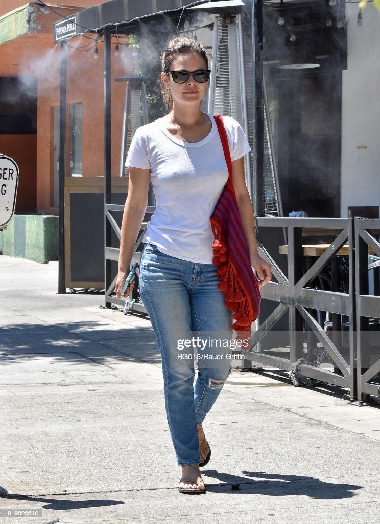 Celebrity Sightings In Los Angeles - July 20, 2017