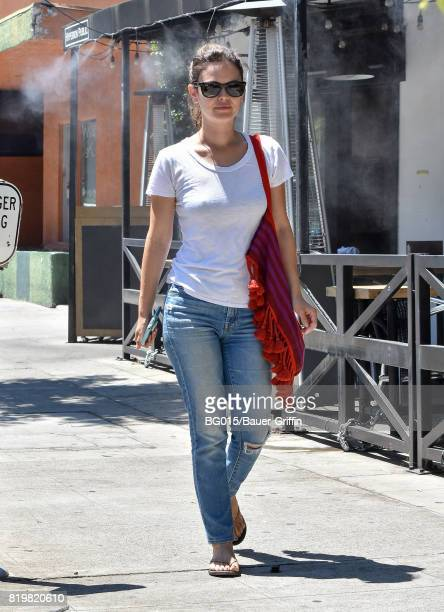 Rachel Bilson is seen on July 20 2017 in Los Angeles California
