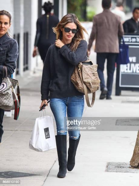 Rachel Bilson is seen on October 30 2017 in Los Angeles California