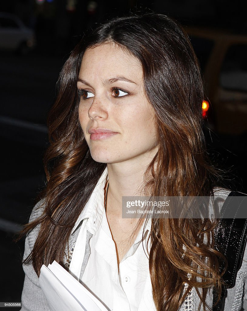 Rachel Bilson sighting in Hollywood on December 15, 2009 in Los Angeles, California.