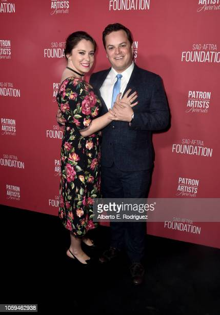Rachel Bloom and Dan Gregor attend SAGAFTRA Foundation's 3rd Annual Patron of the Artists Awards at Wallis Annenberg Center for the Performing Arts...