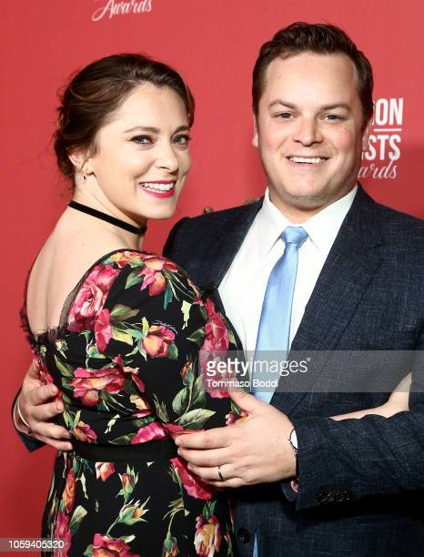 Rachel Bloom and Dan Gregor attend the SAG-AFTRA Foundation's 3rd Annual Patron of the Artists Awards at the Wallis Annenberg Center for the...