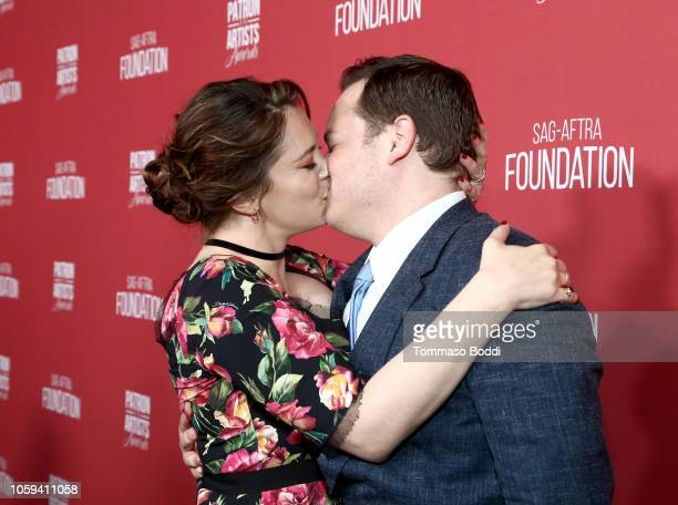 Rachel Bloom and Dan Gregor attend the SAGAFTRA Foundation's 3rd Annual Patron of the Artists Awards at the Wallis Annenberg Center for the...