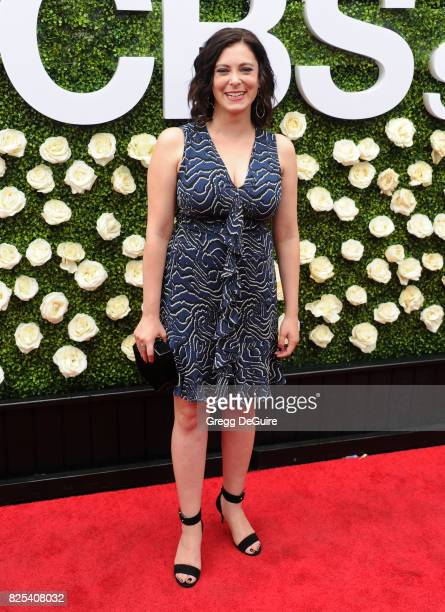Rachel Bloom arrives at the 2017 Summer TCA Tour CBS Television Studios' Summer Soiree at CBS Studios Radford on August 1 2017 in Studio City...