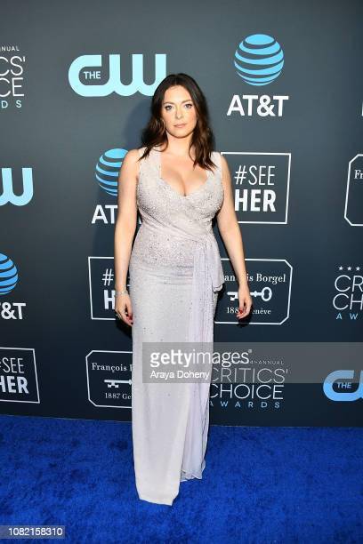 Rachel Bloom at Claire Foy Accepts The #SeeHer Award At The 24th Annual Critics' Choice Awards The Barker Hanger on January 13 2019 in Santa Monica...