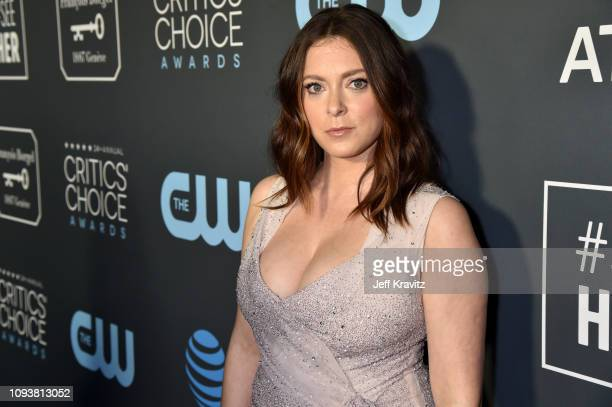 Rachel Bloom at The 24th Annual Critics' Choice Awards at Barker Hangar on January 13 2019 in Santa Monica California