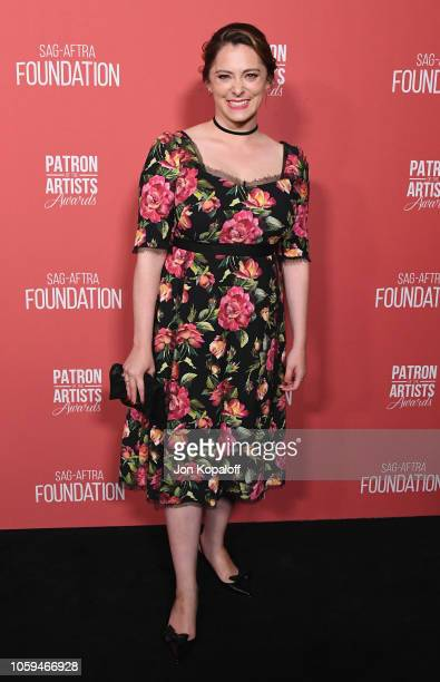 Rachel Bloom attends SAGAFTRA Foundation's 3rd Annual Patron Of The Artists Awards at Wallis Annenberg Center for the Performing Arts on November 8...