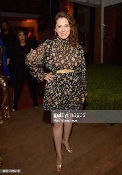 Rachel Bloom attends the 2018 GQ Men of the Year Party at a private residence on December 6 2018 in Beverly Hills California