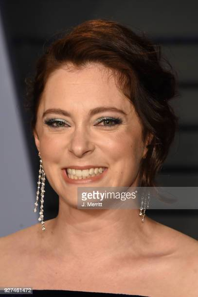 Rachel Bloom attends the 2018 Vanity Fair Oscar Party hosted by Radhika Jones at the Wallis Annenberg Center for the Performing Arts on March 4 2018...