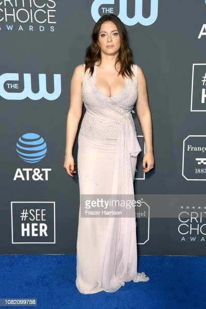 Rachel Bloom attends the 24th annual Critics' Choice Awards at Barker Hangar on January 13, 2019 in Santa Monica, California.