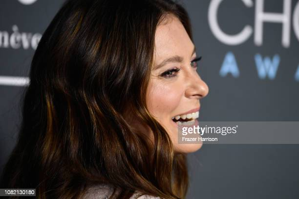 Rachel Bloom attends the 24th annual Critics' Choice Awards at Barker Hangar on January 13 2019 in Santa Monica California
