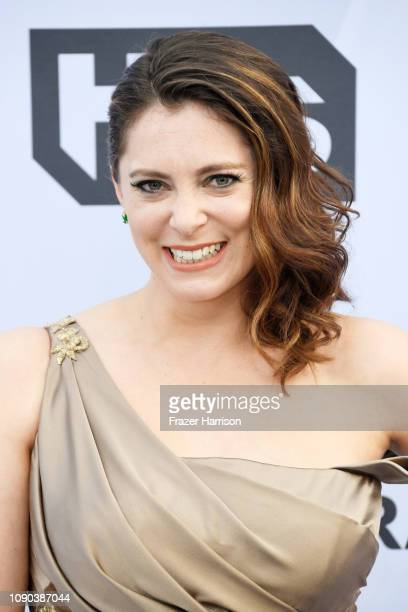 Rachel Bloom attends the 25th Annual Screen Actors Guild Awards at The Shrine Auditorium on January 27 2019 in Los Angeles California