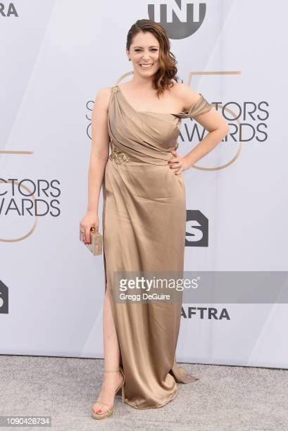 Rachel Bloom attends the 25th Annual Screen Actors Guild Awards at The Shrine Auditorium on January 27 2019 in Los Angeles California 480645