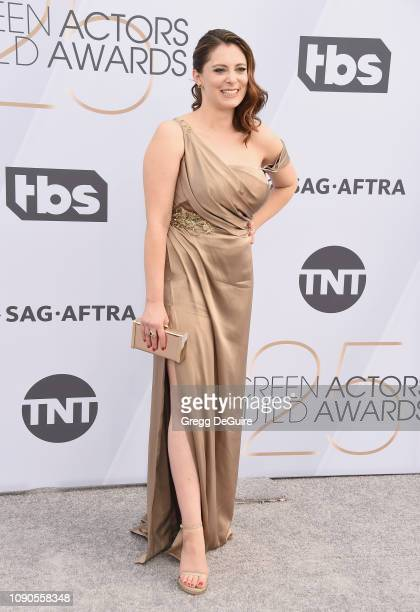 Rachel Bloom attends the 25th Annual Screen ActorsGuild Awards at The Shrine Auditorium on January 27 2019 in Los Angeles California 480645