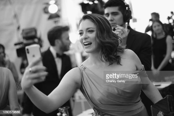 Rachel Bloom attends the 25th Annual Screen ActorsGuild Awards at The Shrine Auditorium on January 27 2019 in Los Angeles California 480620