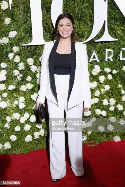Rachel Bloom attends the 71st Annual Tony Awards at Radio City Music Hall on June 11 2017 in New York City