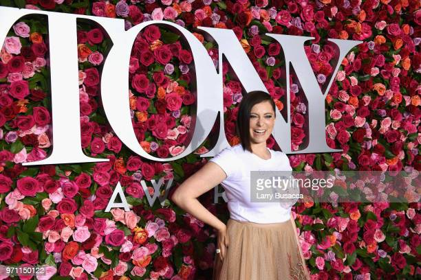 Rachel Bloom attends the 72nd Annual Tony Awards at Radio City Music Hall on June 10 2018 in New York City