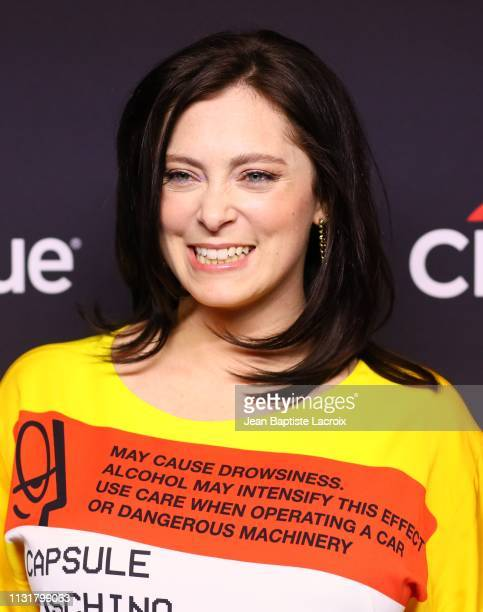 Rachel Bloom attends the Paley Center For Media's 2019 PaleyFest LA Jane The Virgin and Crazy ExGirlfriend The Farewell Seasons held at the Dolby...