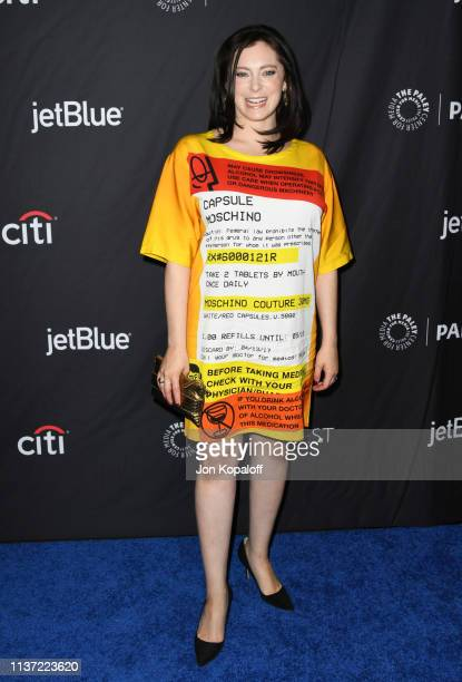 """Rachel Bloom attends The Paley Center For Media's 2019 PaleyFest LA - """"Jane The Virgin"""" And """"Crazy Ex-Girlfriend"""": The Farewell Seasons at Dolby..."""