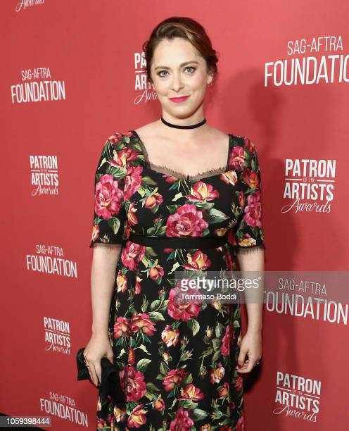 Rachel Bloom attends the SAGAFTRA Foundation's 3rd Annual Patron of the Artists Awards at the Wallis Annenberg Center for the Performing Arts on...