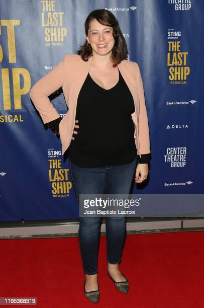 Rachel Bloom attends the The Last Ship Opening Night Performance on January 22, 2020 in Los Angeles, California.