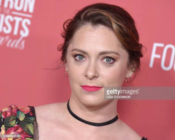 Rachel Bloom attends the The SAGAFTRA Foundation 3rd Patron of the Artists Awards in Los Angeles California on November 8 2018