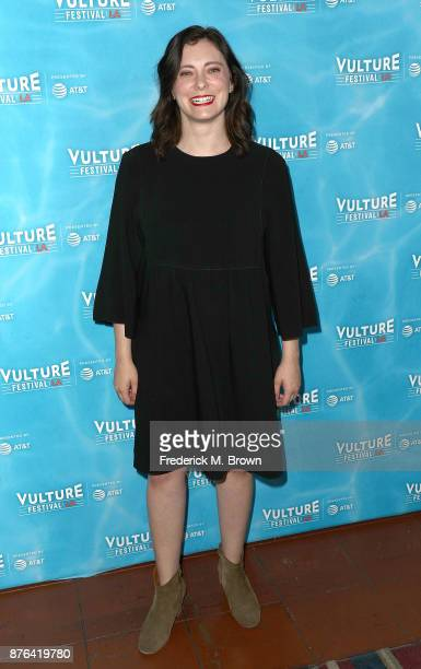 Rachel Bloom attends the Vulture Festival Los Angeles at the Hollywood Roosevelt Hotel on November 19 2017 in Hollywood California